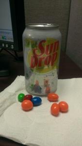 Sun Drop M&M's
